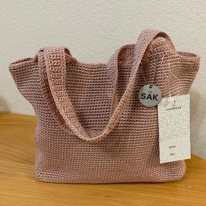 The Sak Crochet Hand Tote